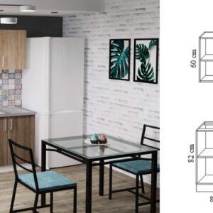 """Кухня """"Бафи"""" 2.0м с фасадами из ЛДСП"""