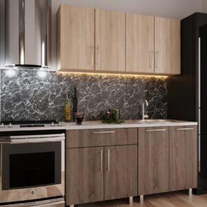 """Кухня """"Мини"""" 1,6м с фасадами из ЛДСП"""
