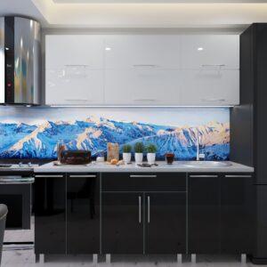 """Кухня """"Модерн"""" 2.0м  с фасадами из глянцевых панелей МДФ (High Gloss)"""
