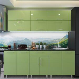 """Кухня """"Модерн"""" 2.2м с фасадами из глянцевых панелей МДФ (High Gloss)"""