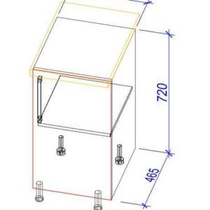 Нижний кухонный шкаф NS-40