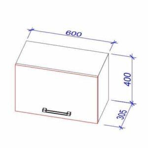 Верхний кухонный шкаф Okap-60/Окап-60